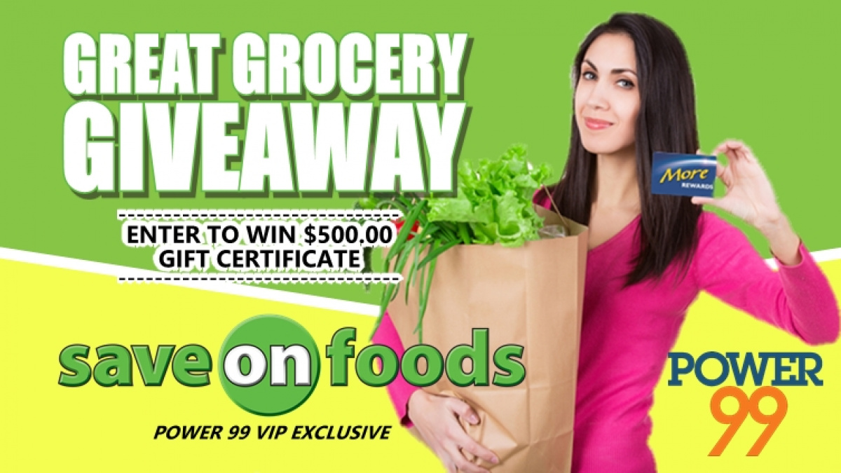 Save-On-Foods Great Grocery Giveaway